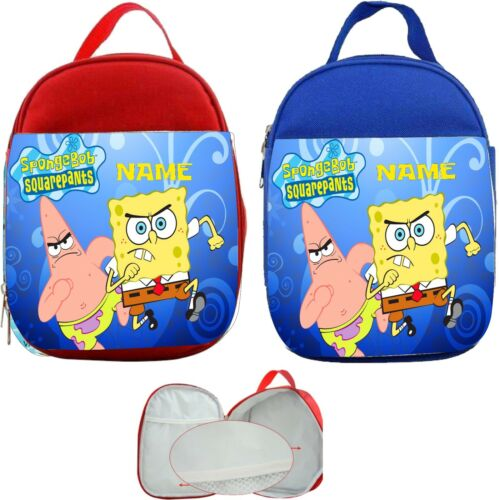 Spongbob Squarepants #2 Personalised Childs Lunch Bag
