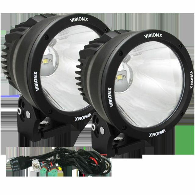 Astonishing Vision X Ctl Cpz610Kit 6 7 50 Watt Led Light Cannon For Sale Online Wiring 101 Akebwellnesstrialsorg