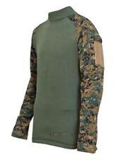 Tru-Spec Tactical Response Combat Shirt Woodland Digital/OD XL-Regular 2559006