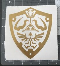 Zelda Sticker Hylian Shield Decal Apple MacBook Mac iPad Laptop Car Window