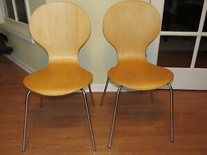 Exceptionnel Image Is Loading VINTAGE PAIR OF MID CENTURY MODERN ANT CHAIRS