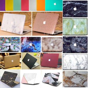 Painted Wood//Marble Laptop Hard Case Cover For Macbook Air 11Pro 13 15 Retina 12