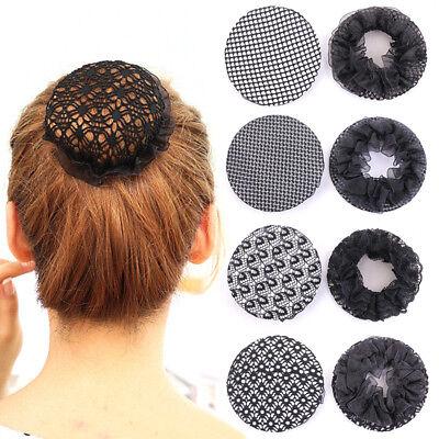 Professional Women Hair Bun Cover Snood Ballet Dance Skating Net Crochet Acces