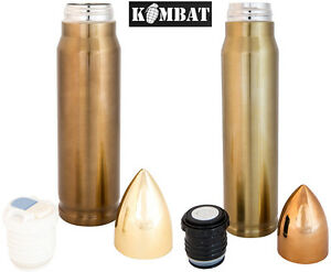Army-Military-Bullet-Thermos-Vacuum-Hot-Cold-Flask-1000ml-500ml-Stainless-Steel
