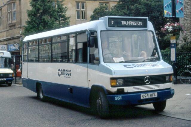 Cambus No.951 Cambridge 1990 Bus Photo