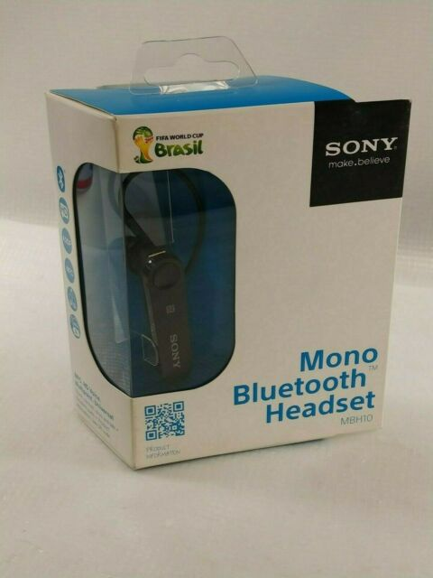 Sony Mono Bluetooth Headset Mbh22 Black For Sale Online Ebay