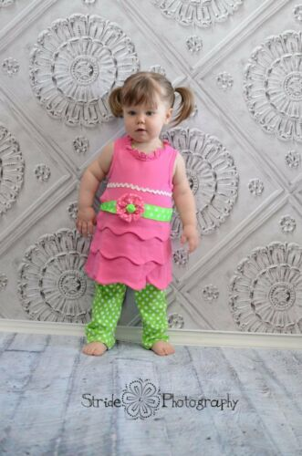 2T//3T NWT Mud Pie Little Sprout Tunic and Leggings 12-18m