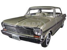 1963 CHEVROLET NOVA HARD TOP AUTUMN GOLD 1/18 DIECAST MODEL CAR BY SUNSTAR 3967