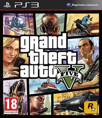 Grand Theft Auto V (5) ~ PS3 (New & Sealed)