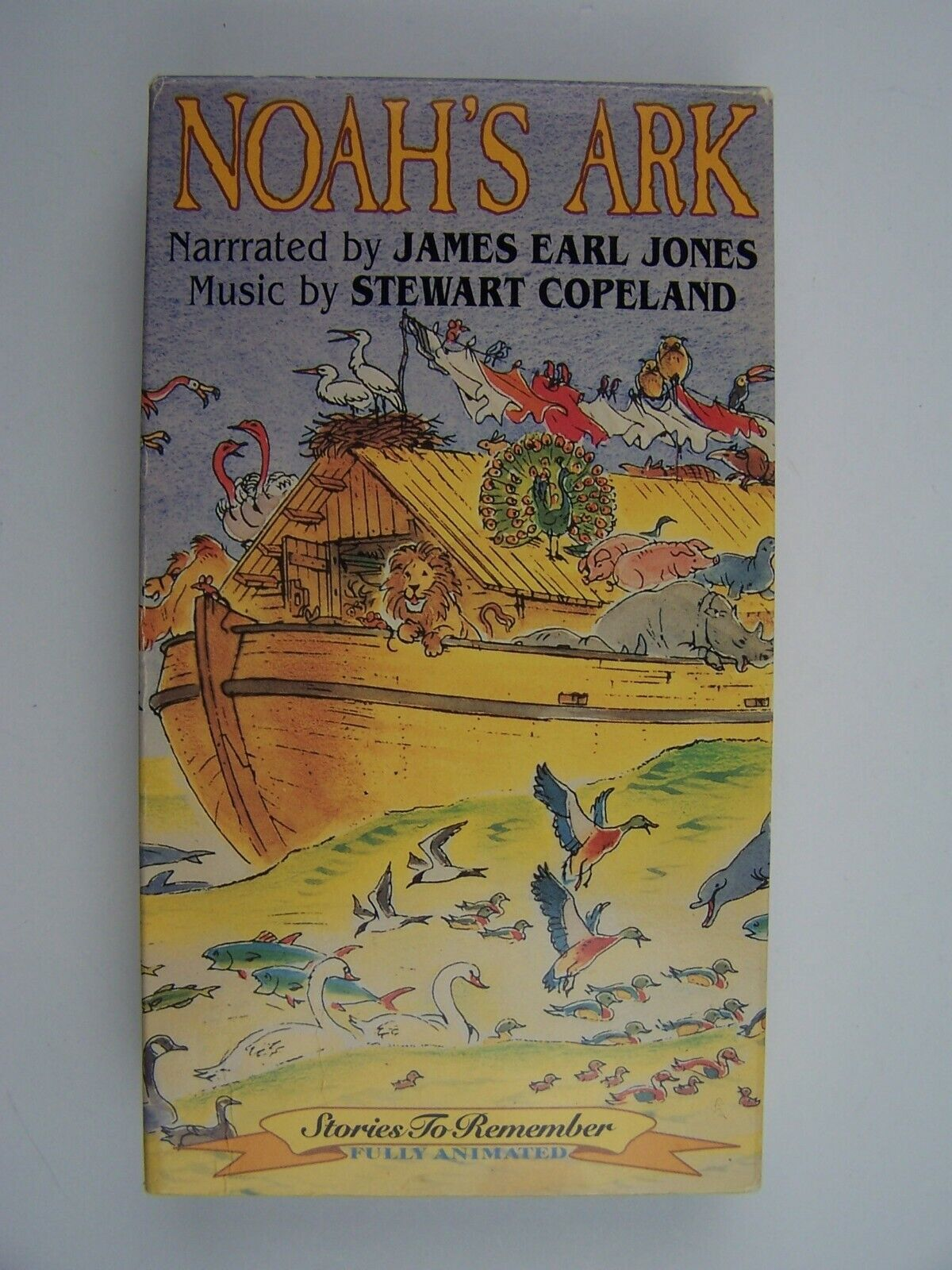 Noah's Ark VHS Narrated by James Earl Jones 85365400139