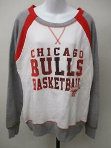 New Chicago Bulls Womens Size L White Sweater MSRP