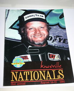 1991-31ST-ANNUAL-KNOXVILLE-NATIONALS-OFFICIAL-PROGRAM-BOBBY-ALLEN-039-SCRUFFY-039