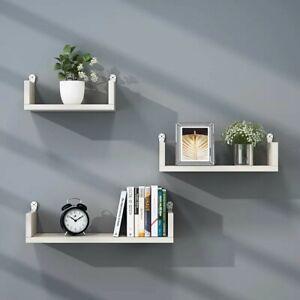 Set-3-Mensole-Muro-moderne-Mensola-da-parete-scaffale-pensile-legno-CD-Design