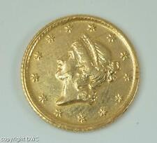 Coin Münze USA 1 Dollar Gold 1851 (O) Golddollar Liberty head 1er type