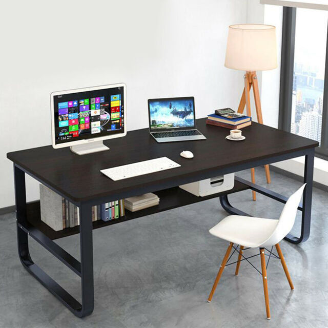Astounding Home Office Student Desk Computer Pc Writing Table Workstation With Bookshelf Squirreltailoven Fun Painted Chair Ideas Images Squirreltailovenorg