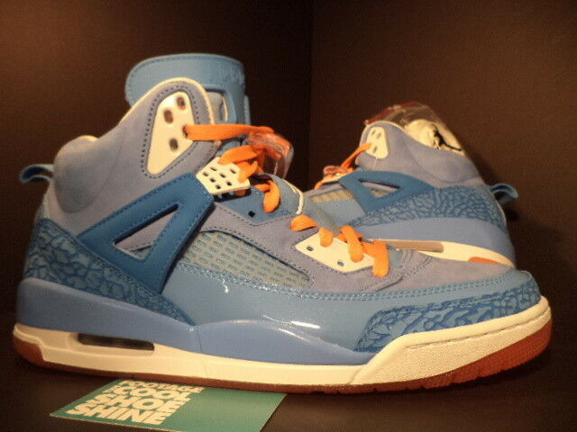 2012 Nike Air Jordan SPIZIKE YOTD YEAR OF THE DRAGON ITALY BLUE WHITE ORANGE 12