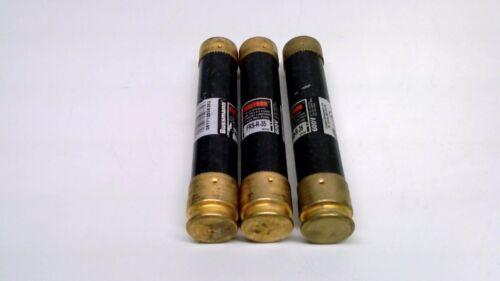 Pack of 3 Bussmann FRS-R-35 FRSR-35 35A 600VAC Fuses