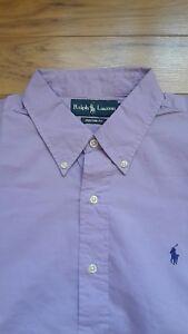 Fit Homme L Ralph Taille Lauren Custom Nouveau Pour Chemise 4UEEwvaqn7