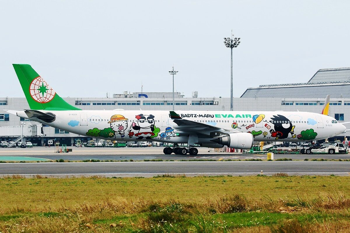 WHITE BOX MODELS MODELS MODELS WBEV33301 1 200 EVA AIR A330-300 B-16331 BAD BADTZ WITH STAND a8cffd