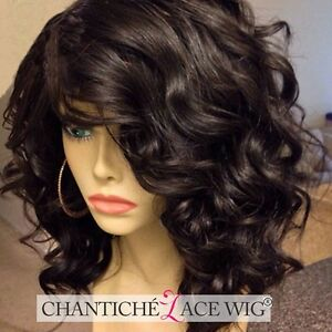Short Bob Wigs Human Hair Lace Front Wigs For Women Indian Remy Full Lace Wig
