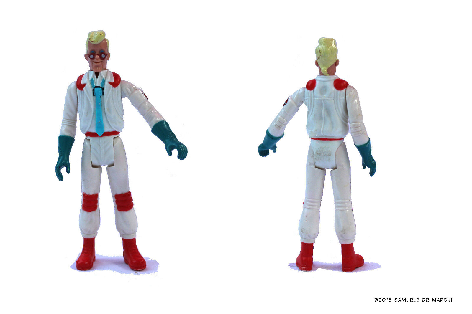 Real Ghostbusters Fright Feature Feature Feature Figure  Egon Spengler 891049