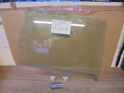 NISSAN X TRAIL 2001-2006 OFFSIDE DRIVER SIDE REAR DOOR WINDOW GLASS
