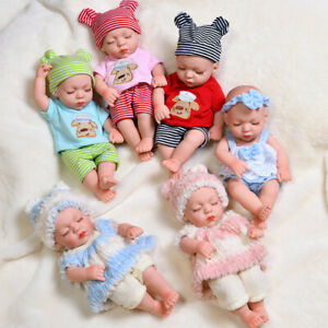 """12"""" Lifelike Reborn Baby Dolls Full Silicone Vinyl Body Boy Girl Toy Kids Gifts"""