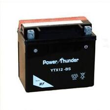 Bateria power thunder YTX12-BS sellada sin mantenimiento