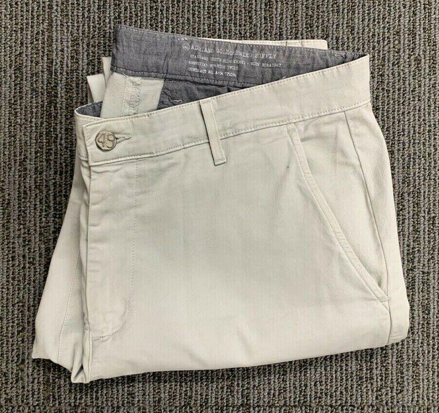 Ag Adriano oroschmied Pantalones de  Color caqui Tamaño 36x32  Envio gratis en todas las ordenes