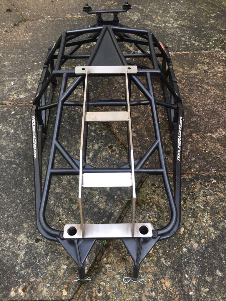 BAJA 5T, BIG BORE, 1 5 SCALE, RC STAINLESS STEEL ROLL OVER CAGE FOR TEAM CHASE