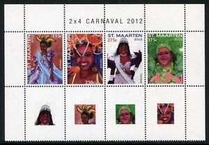St. Maarten 2012 Carnaval Carnival Costumes Folklore ** Neuf Sans Charnière-afficher Le Titre D'origine à Tout Prix