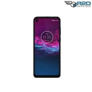 [Original Box] Moto One Action Smart Phone PAGL0006 128GB Denim (Unlocked)