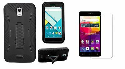 Blu Studio C Case D830u Tempered Glass Refreshment D830l Premium Rugged Heavy Duty Case