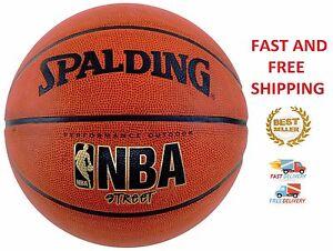 Basketball-Spalding-NBA-Street-Official-Size-7-Outdoor-Indoor-Game-Rubber-Ball