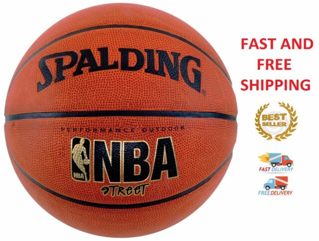Basketball Spalding NBA Street Official Size 7 Outdoor Indoor Game Rubber  Ball d91796d38f