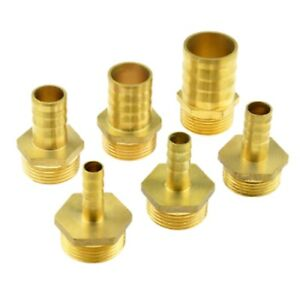 "1//2/"" BSP Female Thread Straight Brass Connector Fitting UK 6mm Hose Barb Tail"
