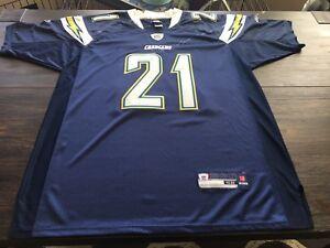 1cc09bb4 Details about NFL San Diego Chargers LaDainian Tomlinson Reebok Mens  Stitched Jersey-sz 52 XL