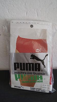 a32ea7962f8094 Vintage Gr 36 Puma Sporthose Turnhose Frottee shorts West Germany NOS