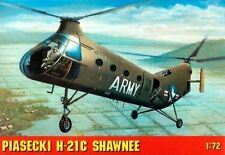 Piasecki H 21 A/c Shawnee (workhorse/flying Banana) 1/72 gomix Kit De Calidad