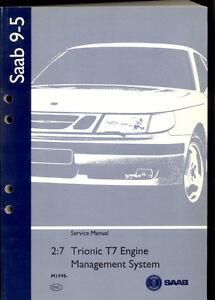 m1998 saab 9 5 2 7 engine management system trionic t7 service rh ebay ie 2010 saab 9-5 service manual saab 9-5 service manual pdf