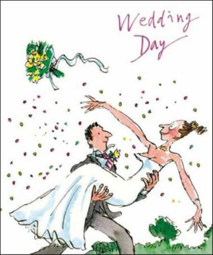Quentin Blake mariage Carte de vœux populaire gamme Greetings Cards