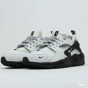 4de2c20eb40 NIKE HUARACHE RUN SE GS GRADE SCHOOL BLACK WHITE YOUTH GS 909143-007 ...