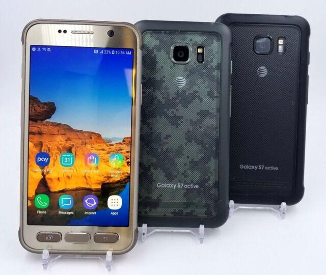 Samsung Galaxy S7 Active G891A 32GB - (At&t/Cricket) - Exceptional,Good,Fair
