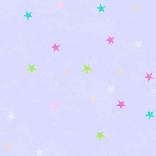 Purlple multicolore étoiles Enfants Qualité Caractéristique Vinyle Papier Peint CM28657