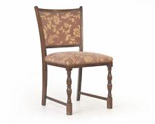 Alter Alt-deutscher Stuhl Sessel Federkern Polster Velour Lübke chaise chair