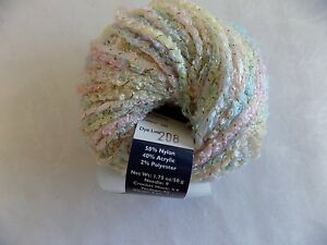 Twinkle-NY-Yarns-Color-50-Soft-Pastels-Nylon-Acrylic-Polyester-1-75-oz-Ball
