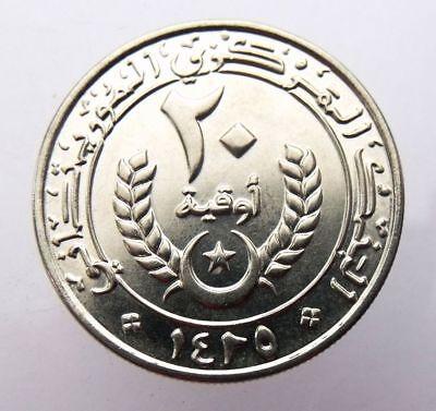 2009 MAURITANIA 10 OUGUIYA FREE SHIPPING Exotic Coin BIN #HHH AU//UNC