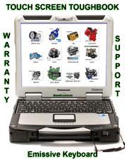 Diesel Diagnostic Laptop Scanner Tool Injectors Test Volvo Detroit Mack Allison