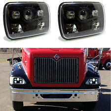2x LED Projector Headlights For International IHC Assembly 9200 9900 9400i