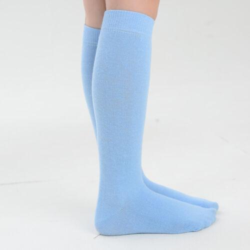 Girls Knee High Betta Socks Various Sizes Blue Cream White or Pink Lot
